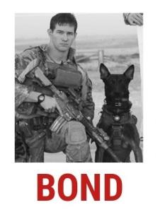 Bond military dog